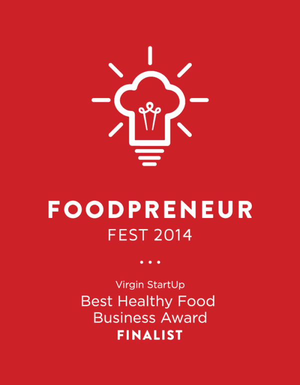 Finalist for Best New Healthy Food Business